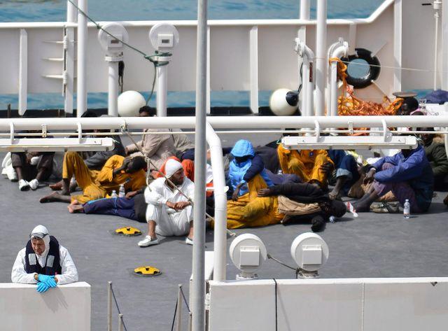 Seuls 28 survivants ont pu être repêchés après le naufrage.