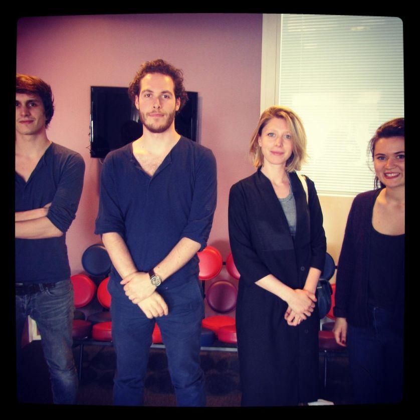 Thibault Dannoville, Anne-Sophie Auclerc, Alon Guez et Joséphine Michellon