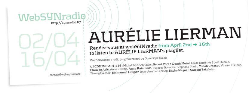 Aurélie Lierman | webSYNradio