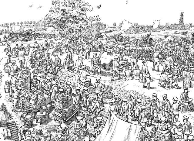 La grande guerre - Le premier jour de la bataille de la Somme