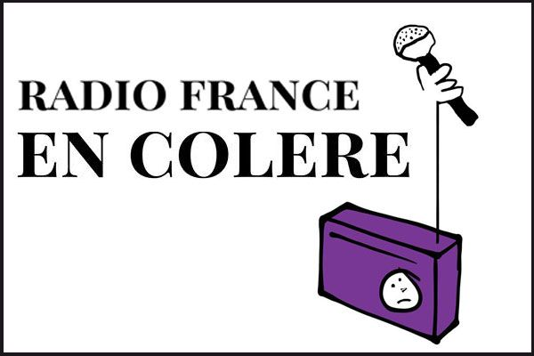 Radio france en colère