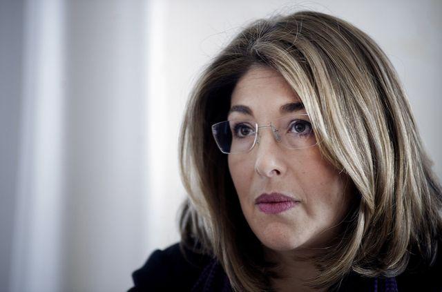 Naomi Klein, à Rome, en Italie, le 4 février 2015.