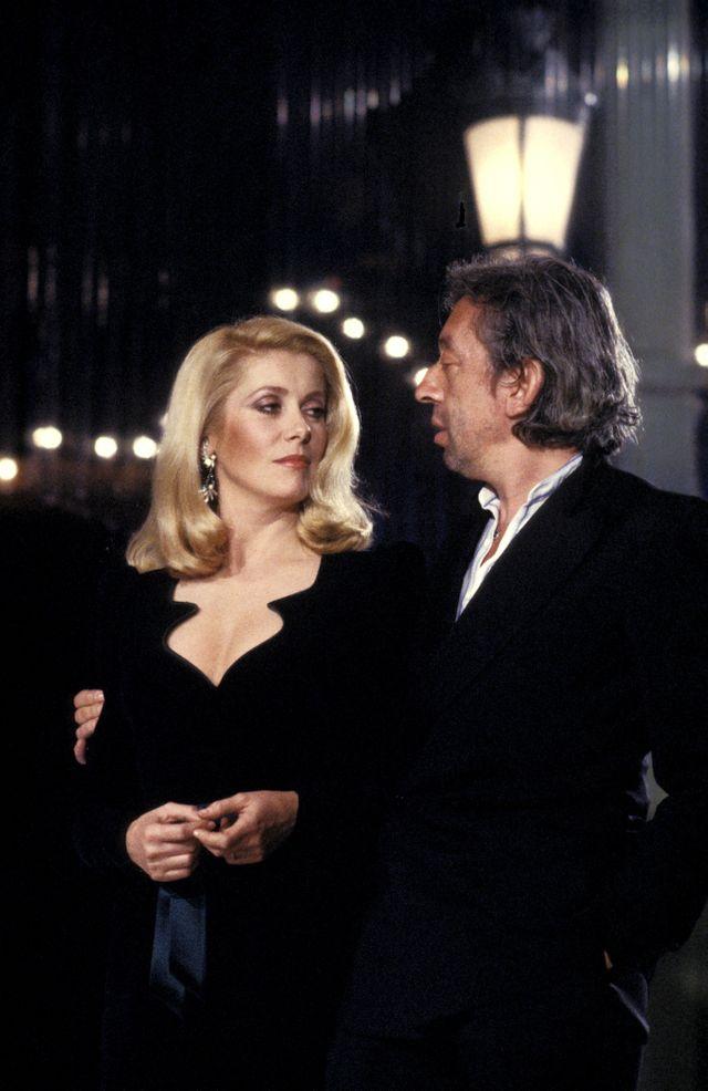 10 janvier 1981 Catherine Deneuve chante avec Serge Gainsbourg.