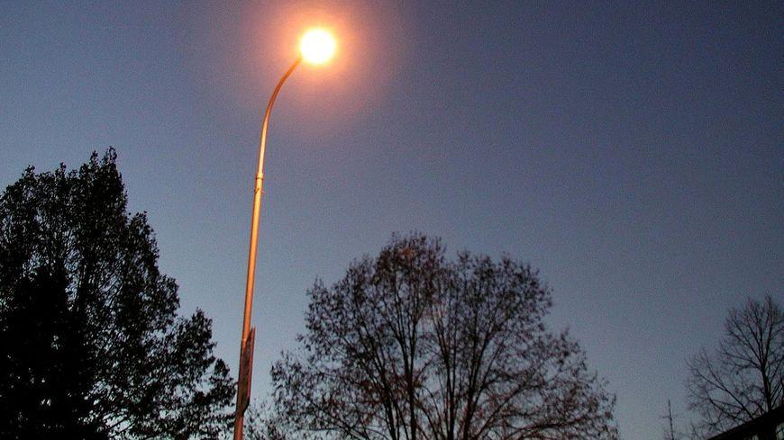 Un lampadaire (photo d'illustration)