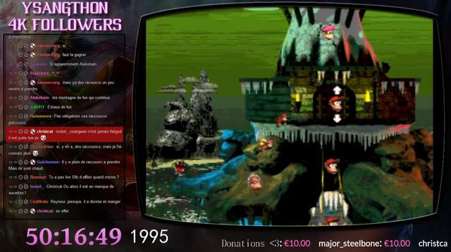 Ysangwen s'attaque aux jeux vidéo de 1990 à aujourd'hui