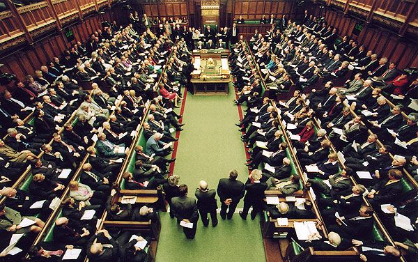 Parlement britannique, House of Commons, une session
