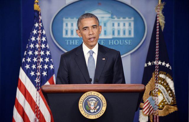 Barack Obama a reconnu l'erreur lors d'une conférence de presse