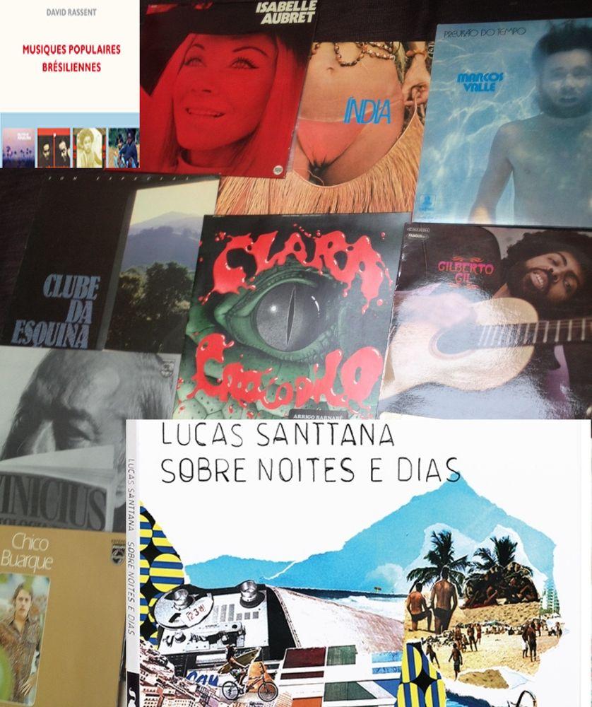 Vinyles, sélection Brésil, D. Rassent et Lucas Santtana