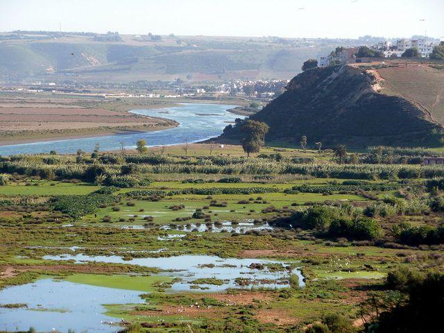 Vallée du Bou Regreb au Maroc