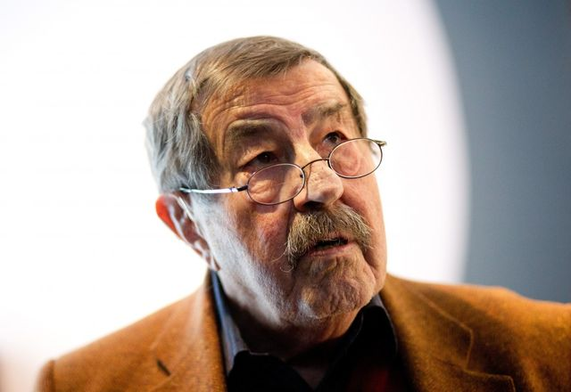 Günter Grass portrait