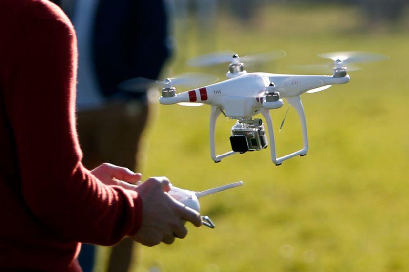 Drone de la marque DJI