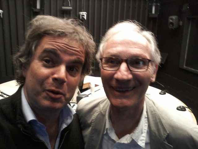 Alexandre Jardin et Alain Rémond