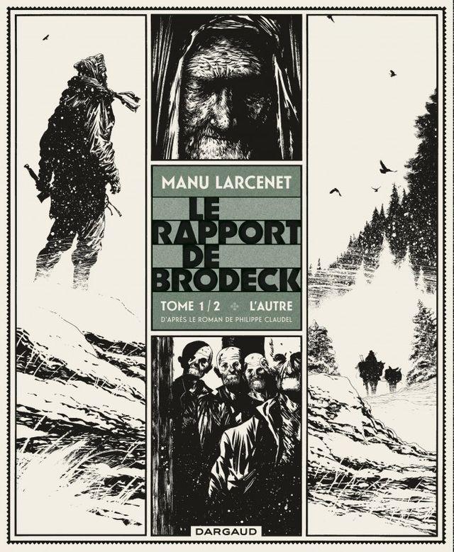 Couverture du Rapport de Brodeck