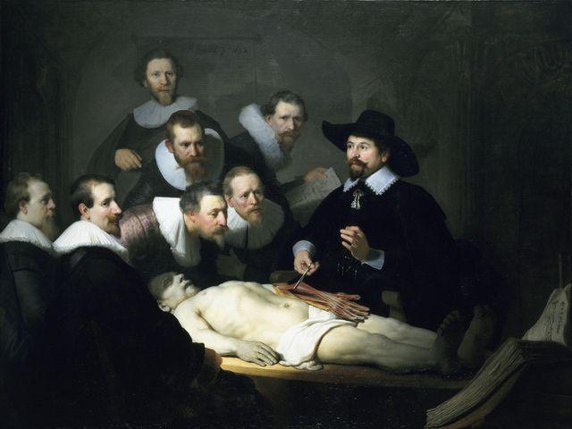 Le leçon d'anatomie du docteur Tulp, Rembrandt, 1632