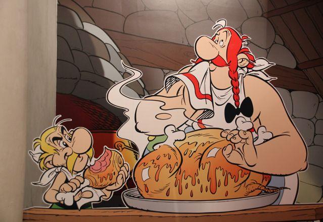 Le sanglier - Dans l''exposition Astérix à Alésia du mythe à la réalité