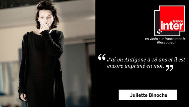 Juliette Binoche, interviewée par Léa Salamé.