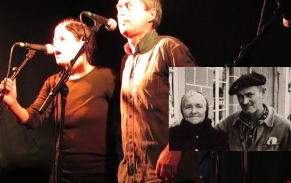 Nanda et Ifig Troadec lors d'un Fest Noz en 2012 © YouTube / Madame Bertrand (& Albert Boloré) © Charles Le Gall - Fds YF Kemener