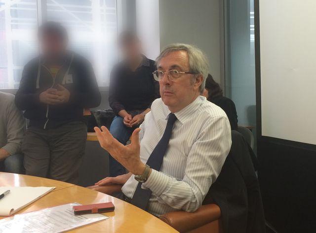 Dominique-Jean Chertier a rapidement entamé le dialogue avec les salariés