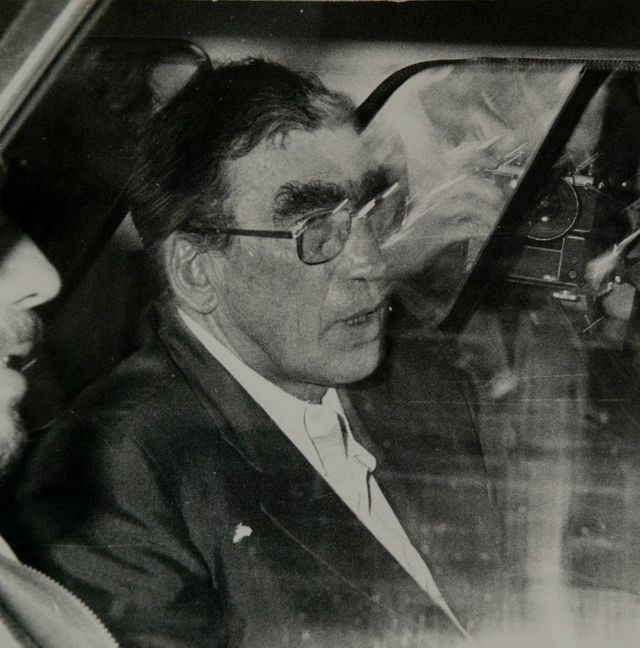 Pierre DEBIZET, patron du service d'action civique (SAC), juillet 1981