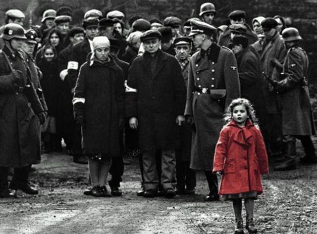 La liste de Schindler, capture d'écran