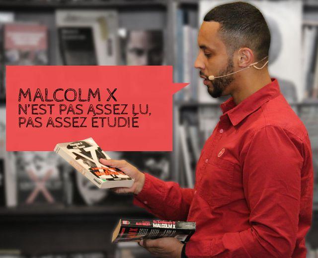 """Disiz : """"Malcolm X n'est pas assez lu et pas assez étudié"""""""