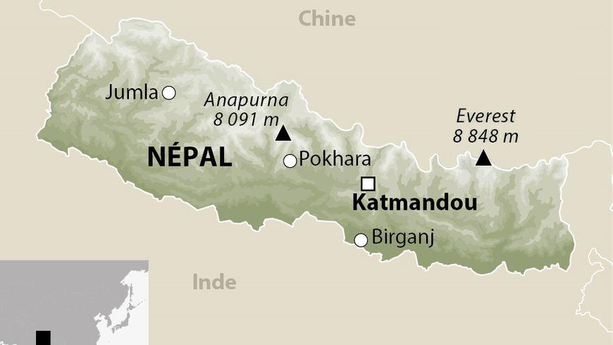 Le Népal.