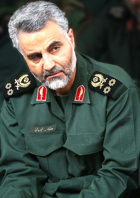 Qassem Souleimani, chef de la force Al Qods, avril 2015