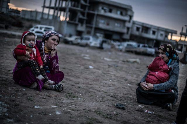 8 février 2015 - Kobane, Syrie