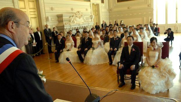 Les noces en Touraine ont attiré des centaines de couples chinois pendant plusieurs années.
