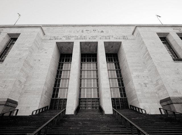 Le palais de justice de Milan
