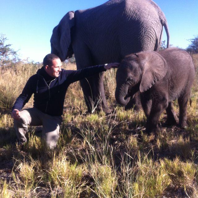 Alexandre Kauffmann au Botswana