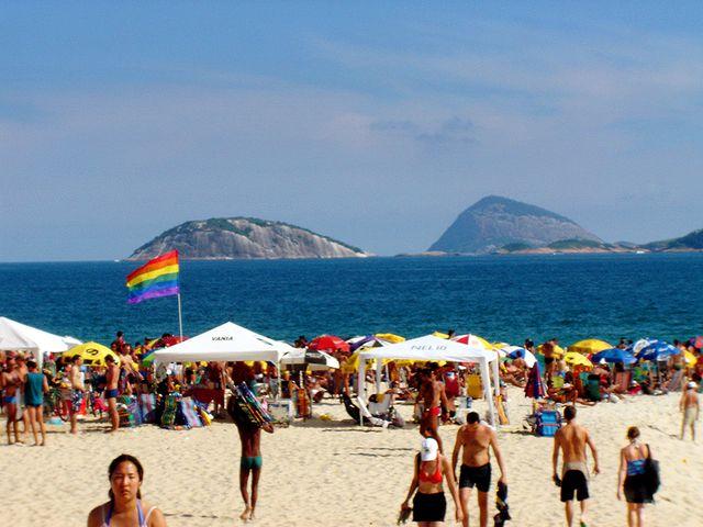 Plage où l'homosexualité est tolérée à Rio de Janeiro