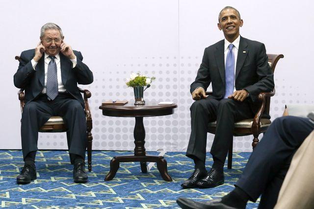 Les deux présidents ont organisé une conférence de presse commune