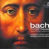 JS Bach : Messe en si mineur - H-moll Messe BWV 232, CD label Harmonia Mundi HMC 901614-2
