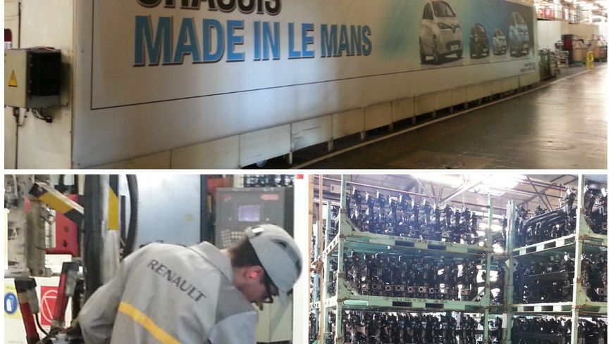 Renault emploie 2.107 personnes au Mans en CDI (chiffre de la direction, au 31 décembre 2014)