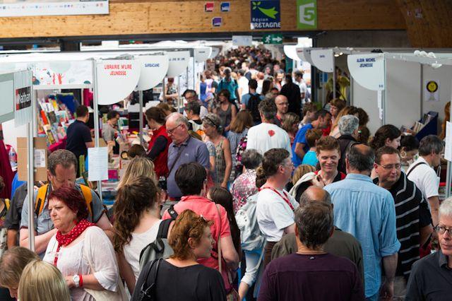 Festival Etonnants voyageurs 2014