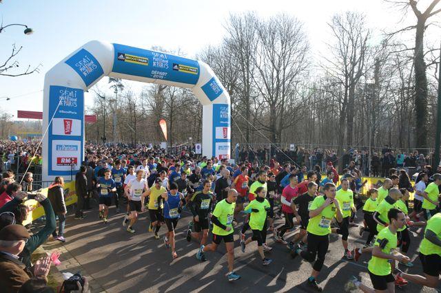 La dernière édition du semi-marathon de Paris.