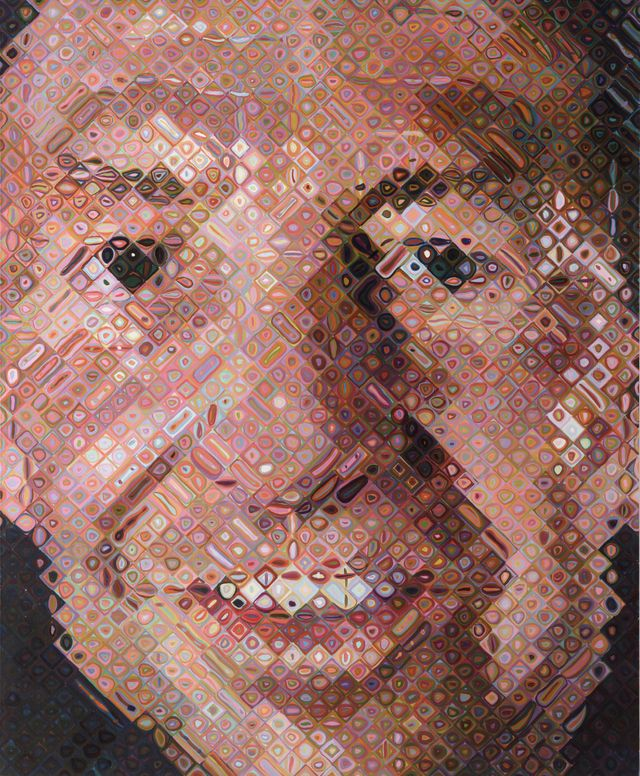 Exposition MOMA à la RMN - Chuck Close