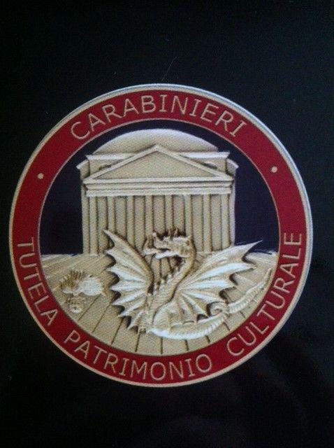 logo du commandement des carabiniers pour la protection du patrimoine