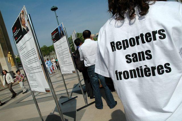 Reporters sans frontières souffle ses 30 bougies en 2015.