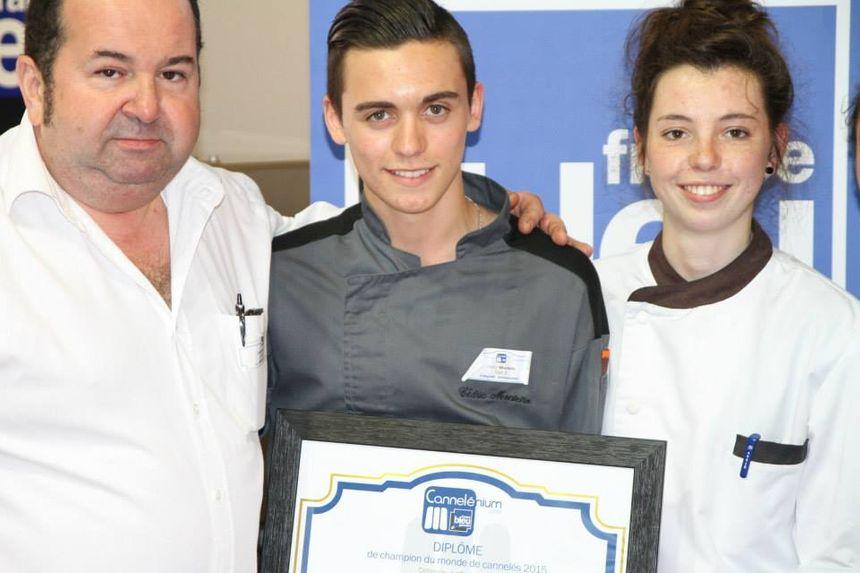 Le jeune Cédric Monteiro remporte le prix Cannelénium 2015, catégorie pro