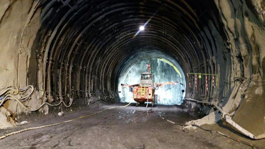 Lyon Turin chantier mai 2015