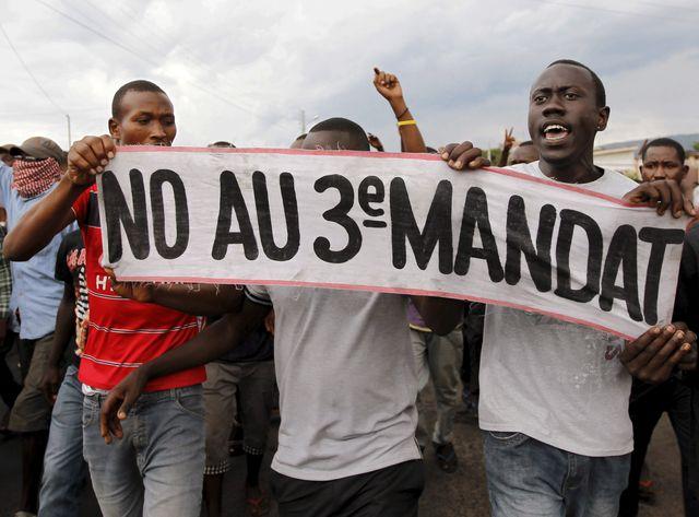 Contestation au Burundi
