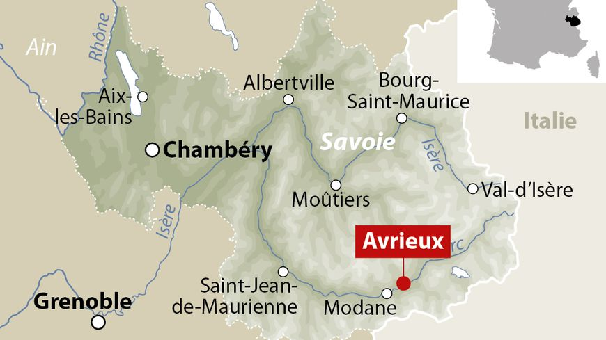 Avrieux, en Savoie.
