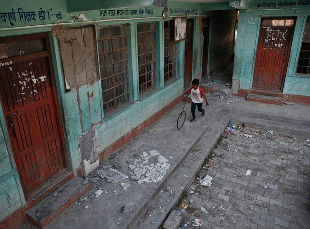 1.600 écoles sont à reconstruire au Népal.