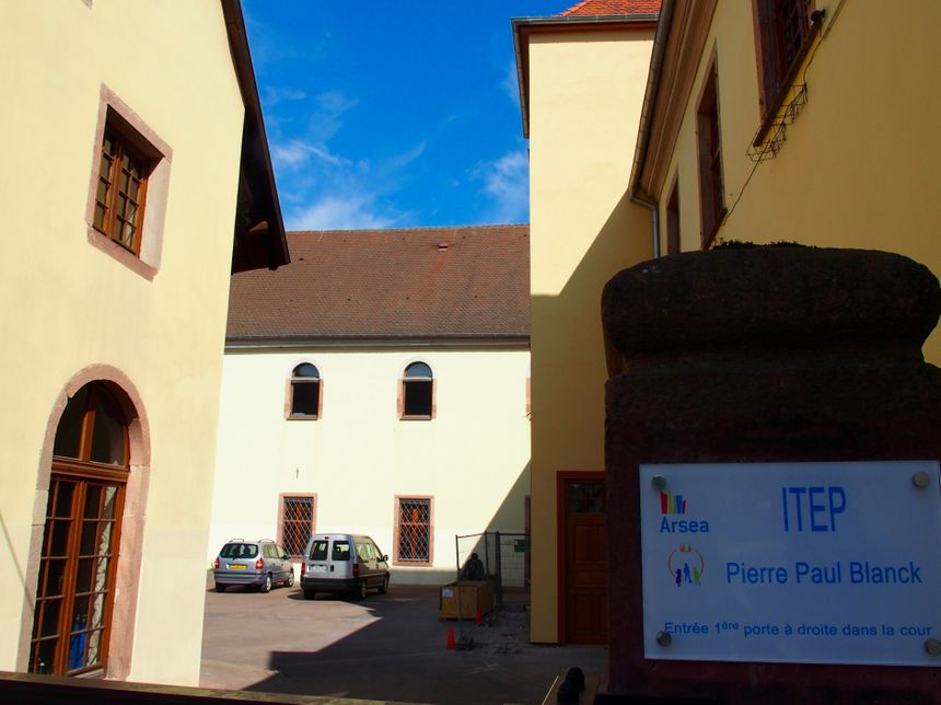 Ebersmunster, l'ancienne abbaye devenue ITEP