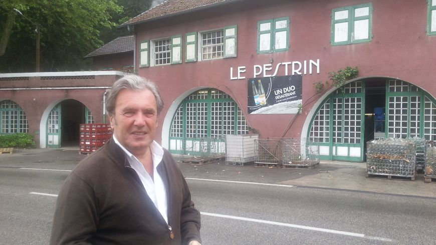 Eric Besson le propriétaire des Sources du Pestrin en Ardèche