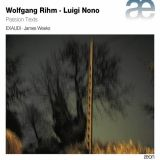 "Album "" Wolfgang Rihm - Luigi Nono : Passion Texts "" CD label Aeon AECD 1441"
