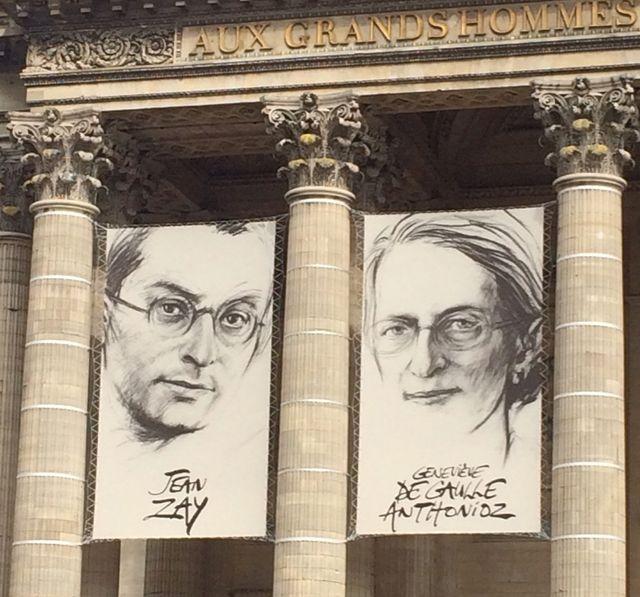Panthéonisation Geneviève De Gaulle-Anthonioz, Jean Zay