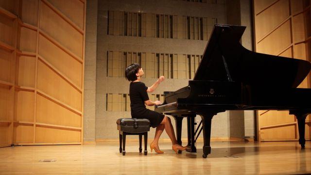 June Wu en concert